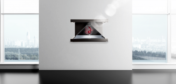 R'Holo – pyramide holographique 3 faces